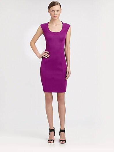 Stretch Jersey Bodycon Dress