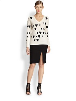 Moschino Cheap And Chic - Cashmere Heart Sweater