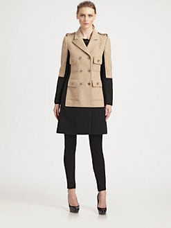 Moschino Cheap And Chic - Two-Tone Trompe L'Oeil Jacket
