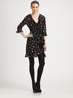 Moschino Cheap And Chic - Silk Heart Dress