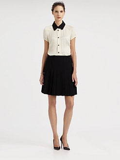 Moschino Cheap And Chic - Colorblock Crepe Dress