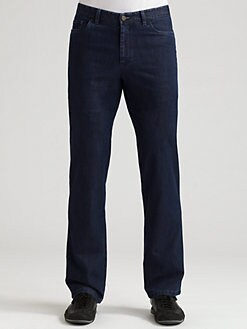 Brioni - Five-Pocket Straight-Leg Jeans