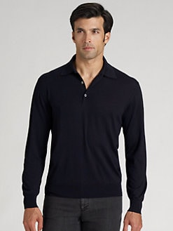 Brioni - Wool Polo Sweater