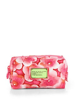 Marc by Marc Jacobs - Floral Nylon Cosmetic Case
