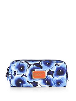 Marc by Marc Jacobs - Floral Nylon Narrow Cosmetic Case