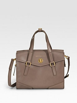 Marc by Marc Jacobs - Kitty St. James Leather Satchel