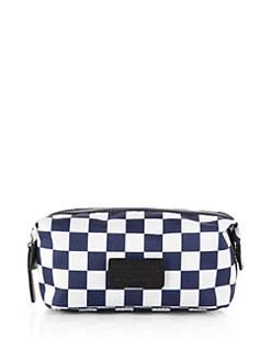 Marc by Marc Jacobs - Domo Arigato Check Nylon Zip Pouch