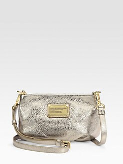 Marc by Marc Jacobs - Classic Q Metallic Leather Percy Shoulder Bag