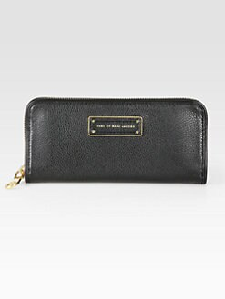 Marc by Marc Jacobs - Too Hot To Handle Slim Zip-Around Wallet
