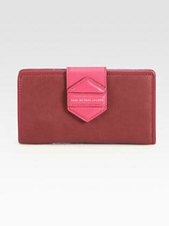 Marc by Marc Jacobs - Flipping Out Medium Colorblock Continental Wallet