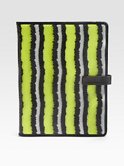 Marc by Marc Jacobs - Wildcard Striped Embossed Tablet Case