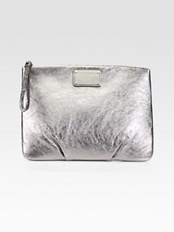 Marc by Marc Jacobs - Classic Q Metallic Leather Tablet Case Wristlet