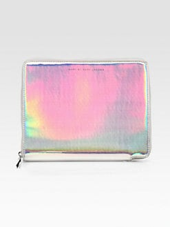 Marc by Marc Jacobs - Techno Holographic Leather Tablet Case