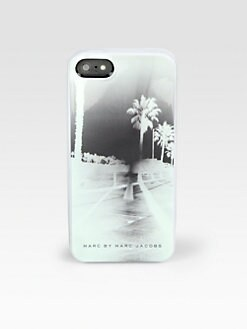 Marc by Marc Jacobs - Boardwalk-Print Hardcase For iPhone 5