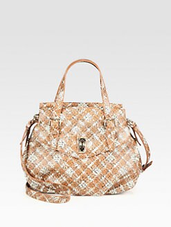 Marc by Marc Jacobs - Coated Canvas Inter Static Nova Satchel