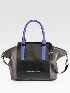 Marc by Marc Jacobs - Large Colorblock Satchel
