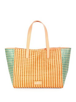 Marc by Marc Jacobs - Tina Mixed-Media Multi-Pattern Tote