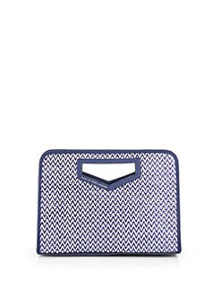Marc by Marc Jacobs - Woven Bamboo Clutch