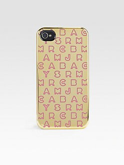 Marc by Marc Jacobs - Dreamy Metallic Trimmed Case for iPhone 4/4s