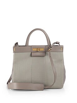 Marc by Marc Jacobs - Madame Hilli Stitched Leather Shopper