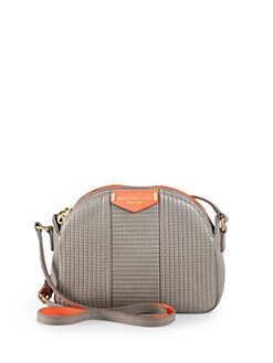 Marc by Marc Jacobs - Lola Stitched Leather Crossbody Bag