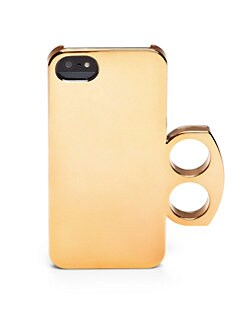 Marc by Marc Jacobs - Metallic-Look iPhone 5 Case