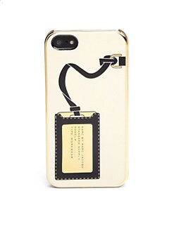 Marc by Marc Jacobs - Metallic Heathrow iPhone 5 Case