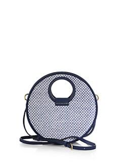 Marc by Marc Jacobs - Isle de Sea Straw Woven Circle Crossbody Bag