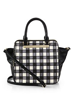 Marc by Marc Jacobs - Checked Shoulder Tote