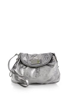 Marc by Marc Jacobs - Classic Q Lil Ukita Metallic Leather Satchel