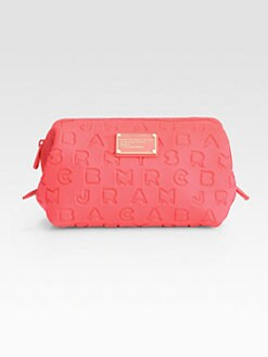 Marc by Marc Jacobs - Dreamy Logo Stamped Cosmetic Case