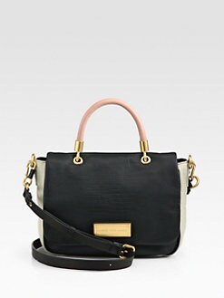 Marc by Marc Jacobs - Too Hot Colorblock Flap Satchel