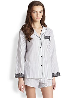 Oscar de la Renta Sleepwear - Shorty Pajama Set