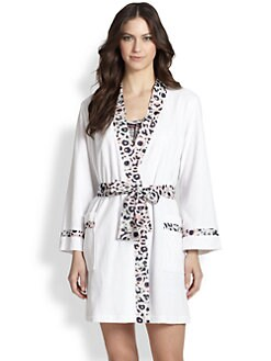 Oscar de la Renta Sleepwear - Seaside Reflect Terry Robe