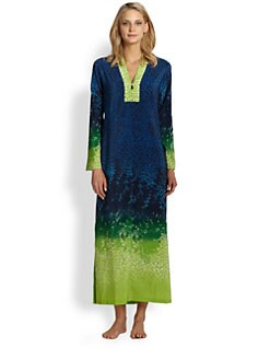 Oscar de la Renta - Jungle Impression Caftan