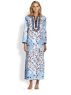 Oscar de la Renta - Island Oasis Caftan