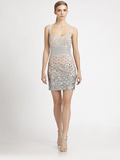 Badgley Mischka - Beaded Dress