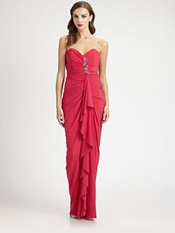 Mark + James by Badgley Mischka - Strapless Gown