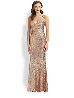 Mark + James by Badgley Mischka - Sequined Gown