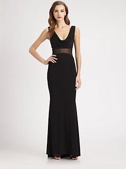 Mark + James by Badgley Mischka - Inset Gown