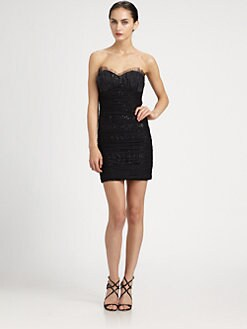 Mark + James by Badgley Mischka - Sequined Tulle Dress