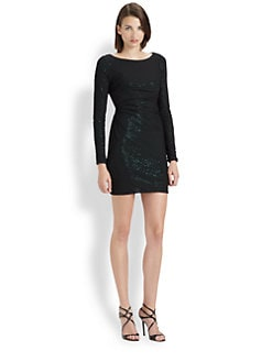 Mark + James by Badgley Mischka - Veiled Sequin Dress