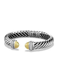 David Yurman - Narrow Pavé Waverly Bracelet