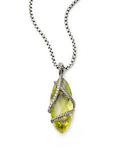 David Yurman - Diamond Accented Lemon Citrine Enhancer