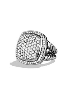David Yurman - Pav&eacute; Diamond Ring