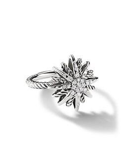 David Yurman - Starburst Small Ring with Diamonds