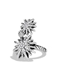 David Yurman - Starburst Open Ring with Diamonds