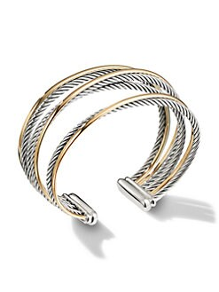 David Yurman - Crossover Cuff