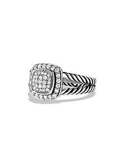 David Yurman - Petite Albion Ring with Diamonds