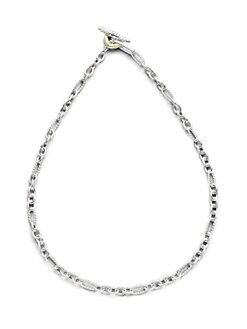 David Yurman - Small Figaro Necklace/18
